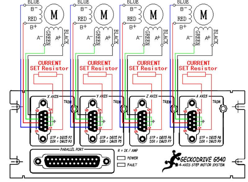 cnc electronic anim4bot rh anim4bot com Aux Limit Switch Wiring Diagram DB25 Breakout Board Wiring Diagram